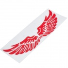 Stylish Red Angel Wings Car Body Sticker Decal (Pair)