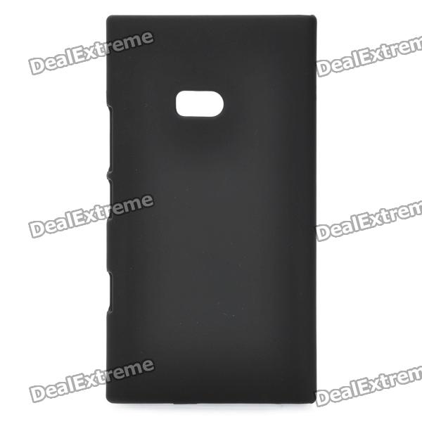 Protective Plastic Back Case for Nokia Lumia 900 - Black nillkin protective plastic back case w screen protector for nokia lumia 630 golden