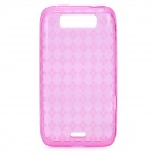 Protective TPU Back Case for LG MS840 - Deep Pink