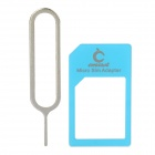 Micro SIM Card to Standard SIM Card Adapter for Iphone 4 / Ipad - Blue