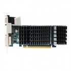 ASUS EN210 SILENT/DI/TC512MD3/GL2 NVIDIA GeForce G210 256 Мб 32-битной памяти GDDR3 PCI-E 2.0 x16 Видеокарты