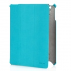 Protective PU Leather Case for New Ipad - Green