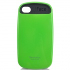 iFace 2 Fashion Sports Car Style Protective Back Case for iPhone 4 / 4S - Green