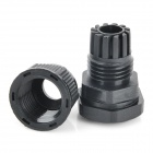 PG9 Water Resistant Cable Glands - Black (15.2mm / 10-Pack)