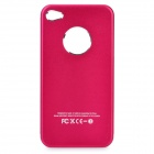Protective Aluminum Alloy Case for iPhone 4/4S - Rosy