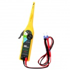 Car Auto Automobile Circuit Detector Tester - Yellow (2 x AA)