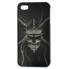 Protective Back Case with 3D Graphic for iPhone 4 - Devil Pattern