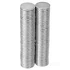 Super Strong Rare-Earth RE Magnets - Silver (10mm*1mm / 100PCS)