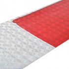 Auto Car Self Adhesive Reflective Tape Strip - Red + Silver