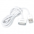 Pisen USB Data / Charging Cable for iPhone / iPad - White (140cm)