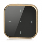 Bluedio DF-200 Clip-On Stereo Bluetooth V3.0 + EDR Headset - Golden (4-Hour Talk/100-Hour Standby)
