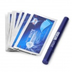 Onuge Teeth Whitening Pen w/ Whitening Strips - Blue (7 Pair)