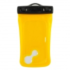 WP-310 Waterproof ABS Bag Case for Iphone / MP3 / MP4 / Camera + More - Yellow