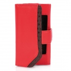 Belkin Protective PU Leather Flip-Open Case for iPhone 4 / 4S - Red