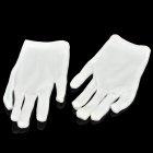 Cotton Women&#039;s Gloves for Special Occupation Use - White (Pair/Size-L)