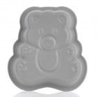 Cute Bear Style Silicone DIY Cake / Dessert Mould - Grey