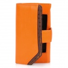 Belkin Schutzhülle PU-Leder Flip-Open Case für iPhone 4 / 4S - Orange