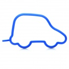 Cute Toy Car Shaped Silicone Egg Pancake Ring - Blue
