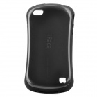 iFace First Class Sport Car Style Protective Back Case for iPhone 4 / 4S - Grey + Black
