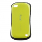 iFace First Class Sport Car Style Protective Back Case for iPhone 4 / 4S - Yellow + Black