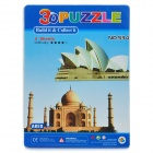 Intellectual Development DIY 3D Paper Puzzle Set - Taj Mahal + Sydney Opera House (50-Piece)