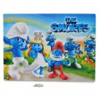 Intellectual Development The Smurfs Image Pattern Paper Jigsaw Puzzle (96-Piece Pack)