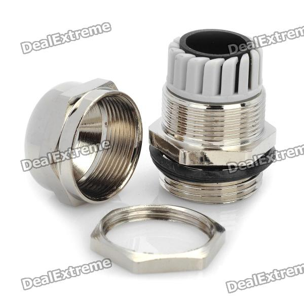 Silver Electrical Cable : Electrical diy cable wire terminal glands silver