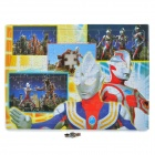 Intellectual Development Ultraman Image Pattern Paper Jigsaw Puzzle (96-Piece Pack)