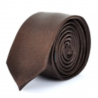 Fashion Men's Decoration Neck Tie - Coffee