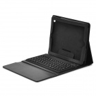 Bluetooth 3.0 Wireless Keyboard With Folding PU Leather Case for iPad/iPad2/the New iPad - Black