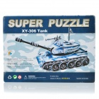 Intellectual Development DIY 3D Paper Puzzle Set - Tank (4-Card / 100-Piece)