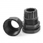 PG21 Water Resistant Cable Glands - Black (28.3mm / 2-Pack)