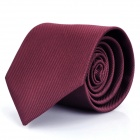 Fashion Men's Decoration Neck Tie - Dark Red