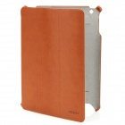 ROCK Texture Series Protective PU Leather Case for The New Ipad - Brown