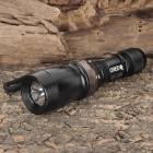 SK-02 Cree XR-E Q5 LED 180LM 5-Mode White Light Diving Flashlight - Black (1 x 18650)