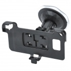 Car Swivel Suction Cup Mount Holder for Samsung Galaxy S II / i9100 - Black