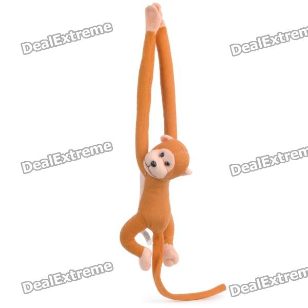 Cute Monkey Curtain Clasps/Holders w/ Sound Effect - Yellow (1 x 377) curtain poirot s last case