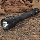 Cree XM-L T6 600LM Dimming White Diving Flashlight - Black (2 x 18650)