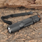 SAIK SA-135 Cree XP-E R2 200LM 1-Mode White Flashlight - Black (1 x AA)