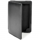 Protective PU Leather Case for Kindle 4 - Black