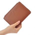 Protective PU Leather Case for Kindle 4 - Brown