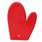 Kitchen Heat Resistant Cooking Oven Glove - Red
