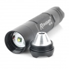 Romisen RC-R5 300-Lumen 3-Mode White Flash Light - Black (1*AA /14500)