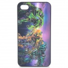3D Transformers Pattern Protective Back Case for iPhone 4 / 4S