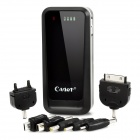 CAGER B09 Portable Rechargeable 4500mAh Battery Charger for Cell Phone + More - Black