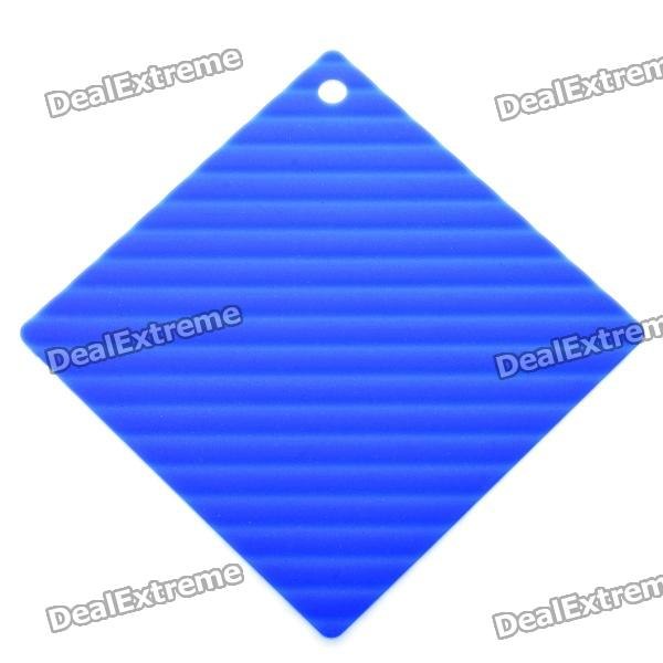 Silicone Heat Resistant Pad Mat - Blue diy silicone thermal pad heat conduct mat for heat sink grey 400mm x 200mm x 1mm