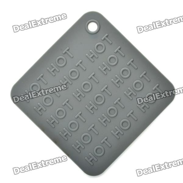 Silicone Heat Resistant Pad Mat - Grey diy silicone thermal pad heat conduct mat for heat sink grey 400mm x 200mm x 1mm