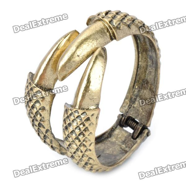 Fashion Talons Style Zinc Alloy Bracelet - Golden цены онлайн