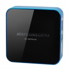 Q1 6600mAh Portable Battery Charger w/ USB Cable for Cell Phone + More - Blue + Black (92cm)