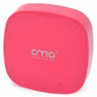 6000mAh 2 USB Output Power Bank External Battery Pack für iPhone / iPad / Mobile and More - Deep Pink